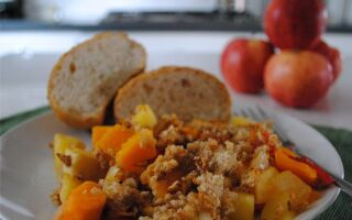 Test Kitchen Tuesday: Butternut Squash and Apple Casserole