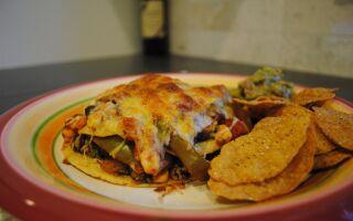 Test Kitchen Tuesday: Layered Veggie Enchiladas