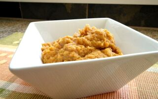 Sweet Potato Banana Mash