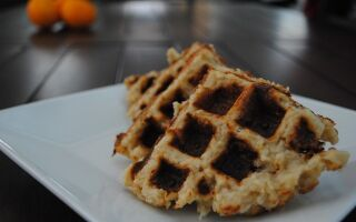 Savory Brown Rice Waffles