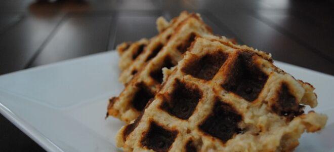 Savory Brown Rice Waffles
