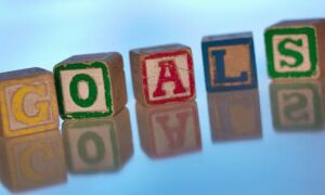 In Non-Food News: Are You Working Towards a Goal?