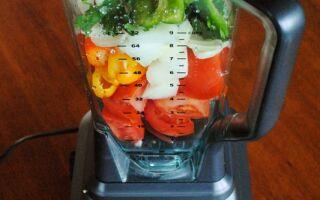 Reader Request: Homemade Salsa in the Ninja Blender