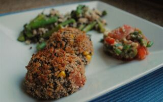 Test Kitchen Tuesday: Black Bean and Corn Croquettes