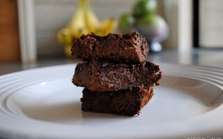 Flourless Healthier Brownies