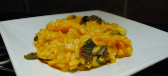 Tuesday Flashback: Butternut Squash Orzo