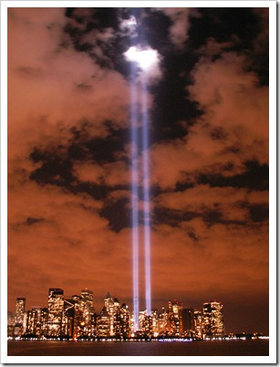 New-york-city-twin-towers-lights