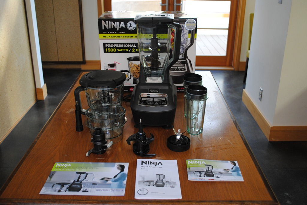 Ninja Bl770 Black Mega Kitchen System  Johngupta.com kitchen designs