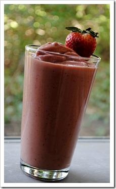 Fresh Strawberry Butternut Smoothie | Test Kitchen Tuesday