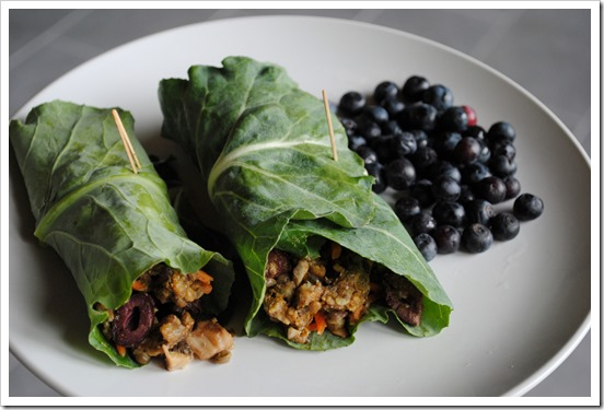 Lentil Almond Collard Wraps | Test Kitchen Tuesday