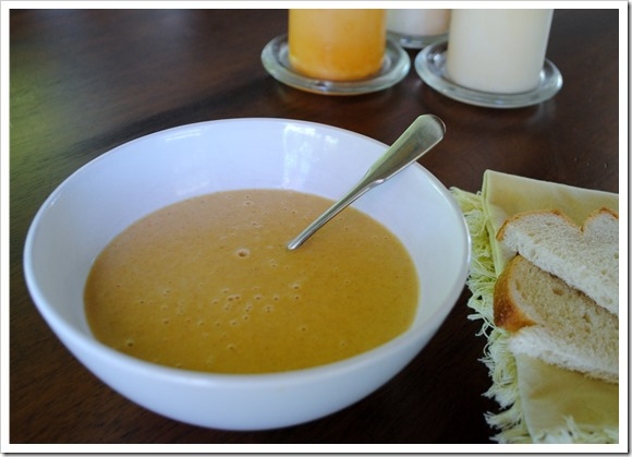 Creamy 4 Ingredient Butternut Soup   Test Kitchen Tuesday