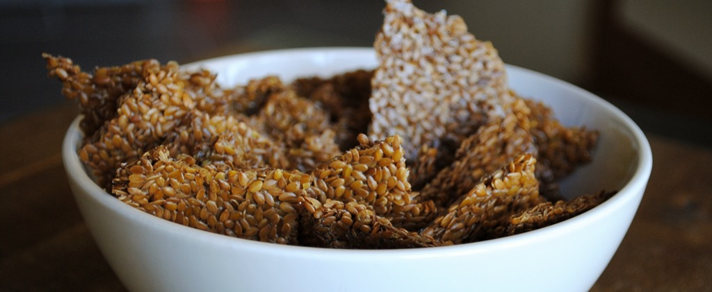 DIY Flaxseed Crackers | Test Kitchen Tuesday
