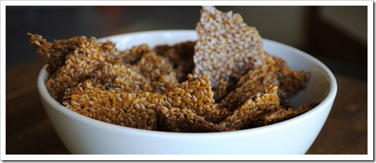 Flaxseed Crackers | Test Kitchen Tuesday