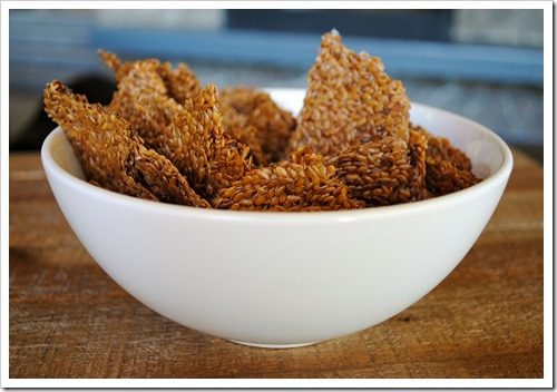 Flax Seed Crackers | Test Kitchen Tuesday