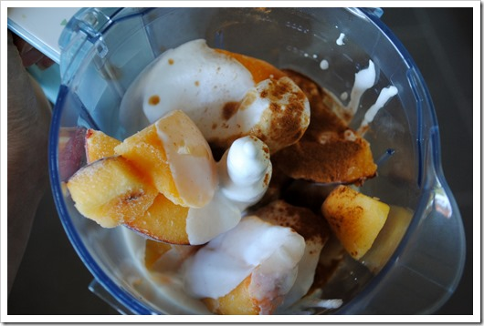 Ninja Blender Peach Soft Serve | Test Kitchen Tuesday