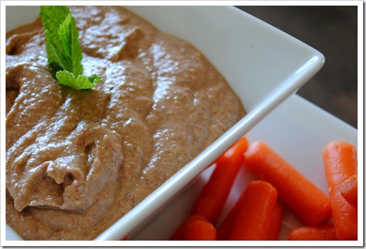 Mild Black Bean Hummus | Test Ki