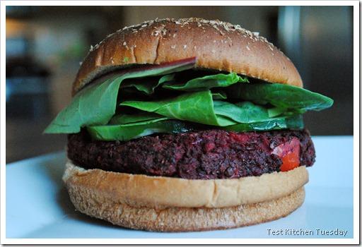 Beet Burgers   Test Kitchen Tuesday