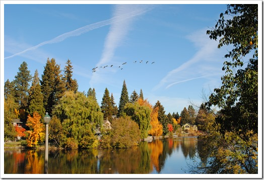 Fall in Bend, Oregon